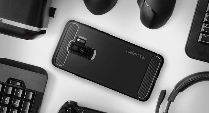 Galaxy S9 Plus Spigen Rugged Armor kılıf inceleme: 5 bin TL'lik telefonunuz emin ellerde
